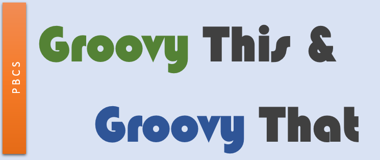 Groovy This & Groovy That – Part 3 The Example – Oracle
