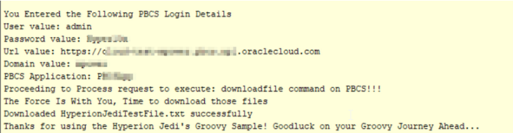Groovy This & Groovy That – Part 3 The Example – Oracle Hyperion